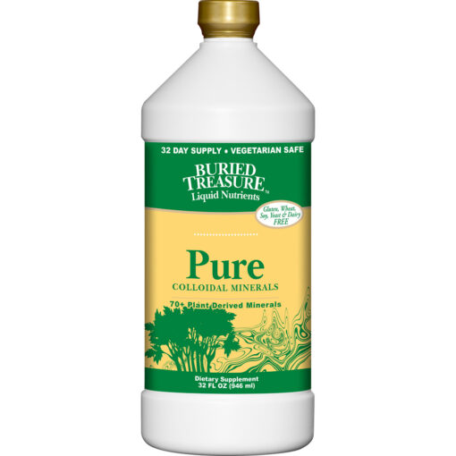 Buried Treasure- Pure Colloidal Minerals