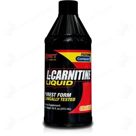 SAN Nutrition- L-Carnitine Liquid Orange