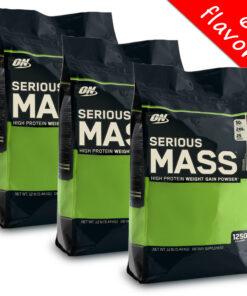 Optimum Nutrition- Serious Mass 12lbs