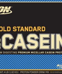 Optimum Nutrition- Gold Standard 100% Casein 4lb Vanilla Label