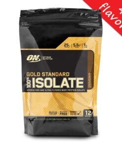 Optimum Nutrition- Gold Standard Isolate 12srv