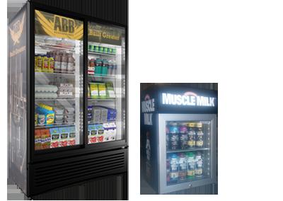 Cooler Program- ABB Double Door Cooler and Cytosport Counter Top Cooler