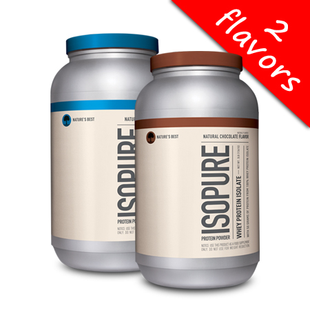 Isopure- Natural Whey Protein Isolate