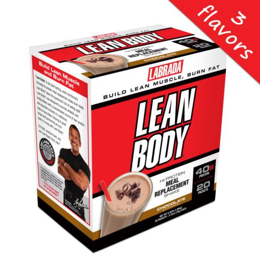Labrada- Lean Body Meal Replacement 20pk