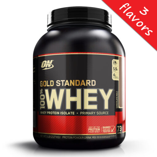 Optimum Nutrition- 100% Whey Gold Standard 5lb