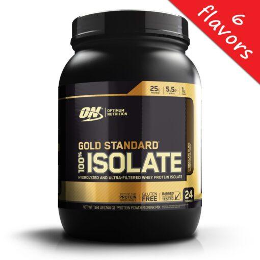 Optimum Nutrition- Gold Standard Isolate 24srv
