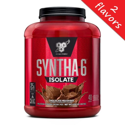 BSN Supplements- Syntha-6 Isolate 4lb